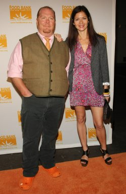 Mario Batali and Jill Hennessy attend the Can Do Awards in New York