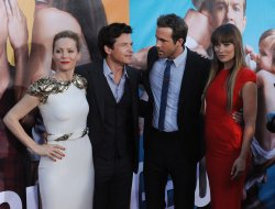 "Leslie mann, Jason Bateman, Ryan Reynolds and Olivia Wilde attend the premiere of ""The Change-Up"" in Los Angeles"