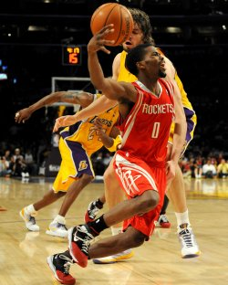 Los Angeles Lakers vs Houston Rockets NBA Game 5 Western Conference semifinals in Los Angeles