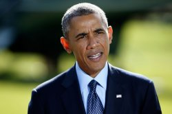 President Obama Delivers Statement On Recent Airstrikes Against ISIL In Syria