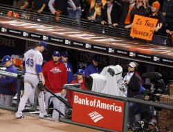 Giants obliterate the Rangers in game two of the World Series in San Francisco