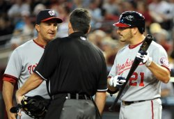 Washington Nationals play the Arizona Diamondbacks