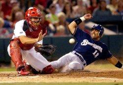 Milwaukee Brewers vs St. Louis Cardinals baseball