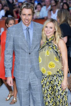 "Kristen Bell and Dax Shepard attend world premiere of ""The Judge"" at the Toronto International Film Festival"