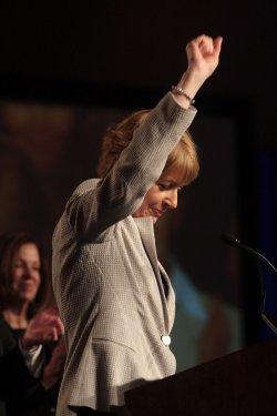 Democratic candidate for U.S. Senate seat Martha Coakley in loss to Republican Scott Brown.