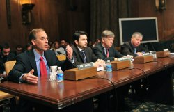 Mark Zandi, Till von Wachter, Raymond Scheppach, and Chris Edwards testify on the U.S. economic recovery in Washington