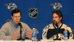 NHL PETER FORSBERG NASHVILLE PREDATORS