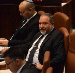 Israeli Foreign Minister Avigdor Lieberman In Knesset, Jerusalem