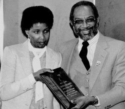 Mandelas Daughter Honored by U.S. Postal Service