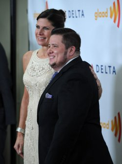 Chaz Bono and Mary Bono Mack attend the 23rd annual GLAAD Media Awards in Los Angeles