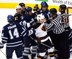 TORONTO MAPLE LEAFS VS ATLANTA THRASHERS
