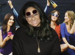 Raven-Symone arrives at Premiere of How To Be Single