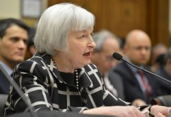 Fed Chair Janet Yellen makes first appearance before Congressional committee