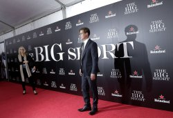 Brad Pitt arrives at the Premiere of The Big Short