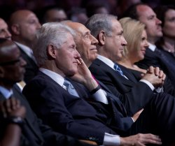 Israeli President Shimon Peres 90 birthday celebrations in Jerusalem