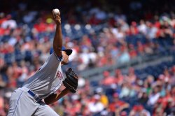 Mets' Jeurys Familia pitches