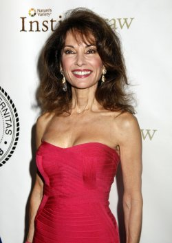 Susan Lucci arrives for the Friars Club Roast of Betty White in New York