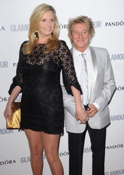 "Rod Stewart and Penny Lancaster attend ""Glamour Women Of The Year Awards"" in London"