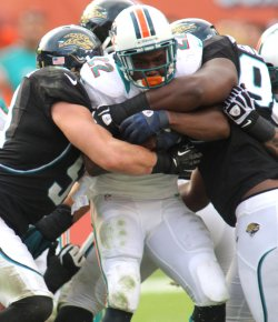 Miami Dolphins vs.Jacksonville Jaguars in Miami
