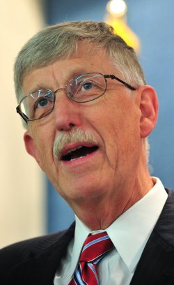 Francis Collins speaks on cancer research in Washington