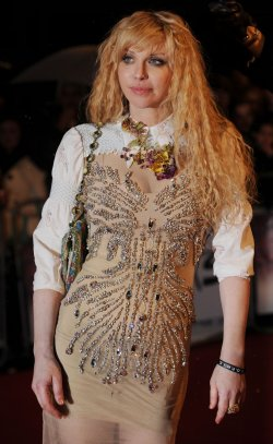 "Courtney Love attends the ""Brit Awards"""