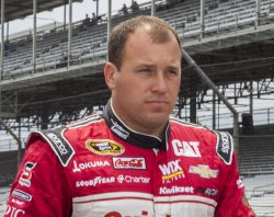 Ryan Newman before Sprint Cup qualifying