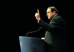 Mike Huckabee, Former Governor of Arkansas, speaks at CPAC in Washington