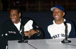 JAY-Z PRESS CONFERENCE AT MADISON SQUARE GARDEN