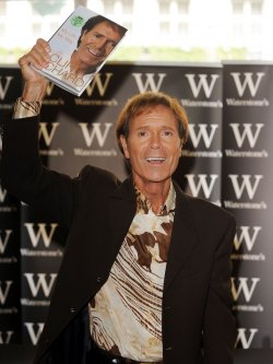 Cliff Richard booksigning in London