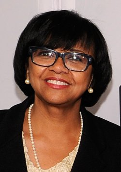 Cheryl Boone Isaacs appears at the 2014 CinemaCon in Las Vegas