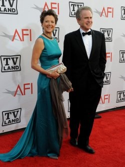 Annette Bening and Warren Beatty arrive at the AFI Lifetime Achievement Awards in Culver City, California