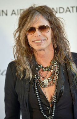Steven Tyler attends the Elton John AIDS Foundation Oscar viewing party