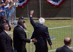 Bernie Sanders addresses supporters at Ventura College in Ventura, California