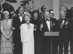 President and Nancy Reagan at Ford's Theatre Benefit