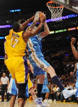 Los Angeles Lakers vs Denver Nuggets Game 1 NBA Western Conference finals in Los Angeles