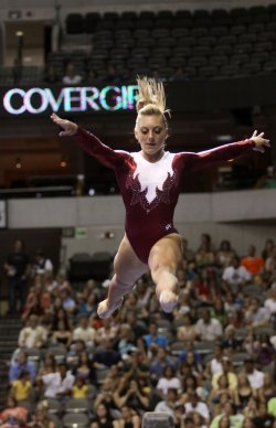 Samantha Pezsek participates in the Visa Championship in Dallas