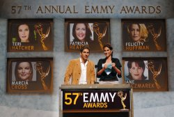 57TH ANNUAL PRIMETIME EMMY AWARD NOMINATIONS ANNOUNCED