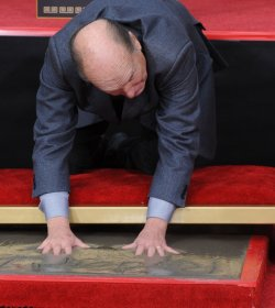Robert Duvall honored during Grauman's hand & footprint ceremony in Los Angeles