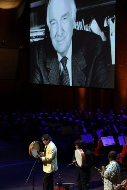 Memorial Service For Walter Cronkite in New York