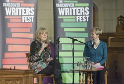 "Journalist, author and human rights activist Sally Armstrong talks about her new book ""Accent of Women"" in Vancouver"