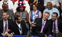 Virginia Gov. McAuliffe attends the DNC convention in Philadelphia