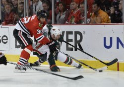 Minnesota Wild vs. Chicago Blackhawks in Game of Western Conference Quarterfinals