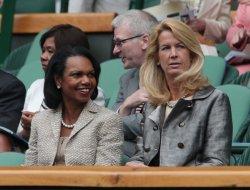 Condoleeza Rice at 2013 Wimbledon Championships