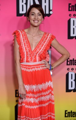 Bree Turner attends Entertainment Weekly's Comic-Con Bash in San Diego