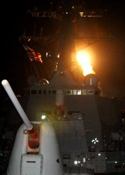 US begins strikes on Iraq