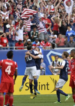 Panama Plays United States in 2013 COCACAF Gold Cup Final in Chicago