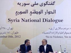 National Syrian Dialogue Meeting in Tehran, Iran