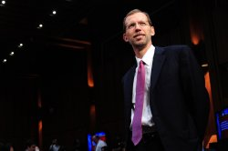 Congressional Budget Office Director Douglas Elmendorf testifies in Washington