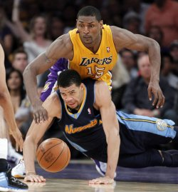Los Angeles Lakers vs. Denver Nuggets Game 7 NBA Western Conference Playoffs in Los Angeles