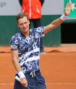 French Open tennis in Paris - 4th round